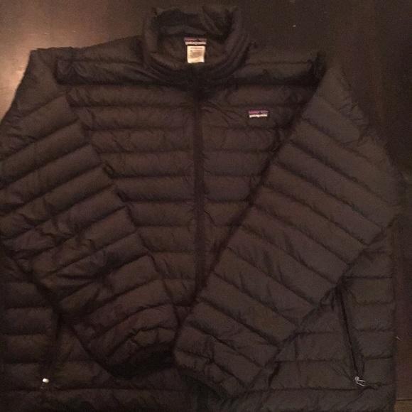 Patagonia Jackets Coats Mens Down Sweater Black Xxl Poshmark